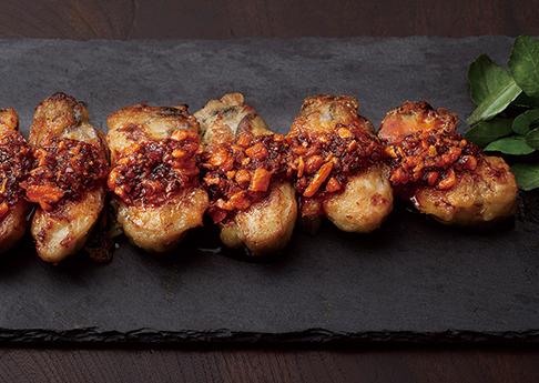 牡蠣のカリカリ焼き