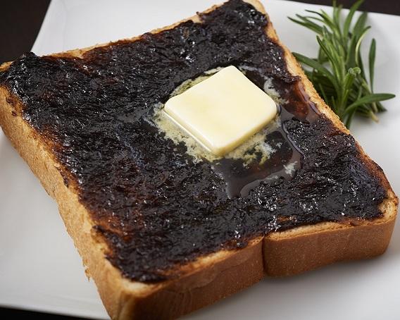 ごはんですよ!バタートーストの画像