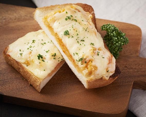 ポテトキムチチーズトーストの画像