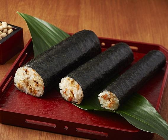 五目寿司で家族の恵方巻き【家族3人用】の画像