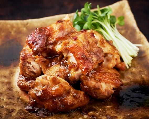 チキンソテー(柚子マヨ風味)