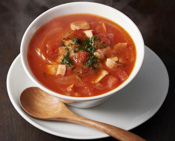 キムチトマトスープ