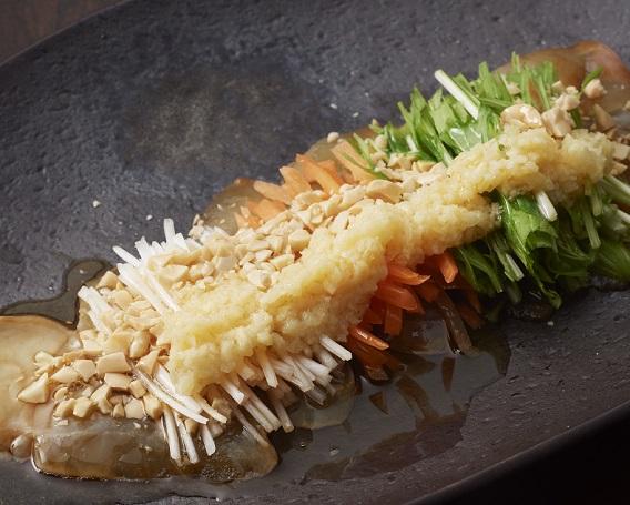 鯛のお刺身サラダの画像