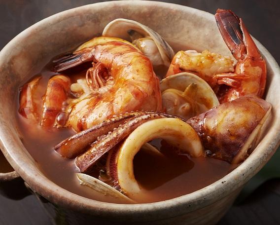 キムチ海鮮スープ