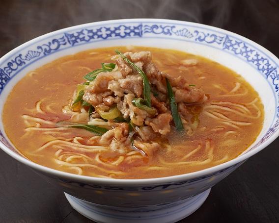 豚キムチ麺の画像