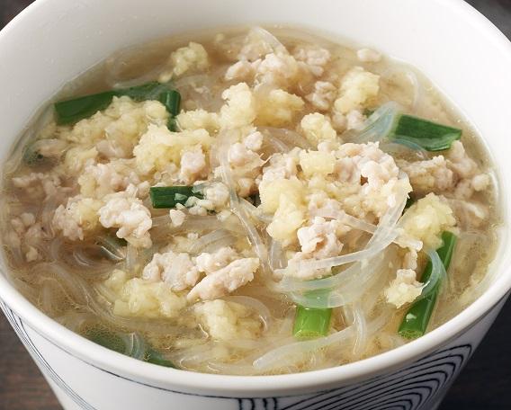 ★新メニュー★春雨のしょうがスープの画像
